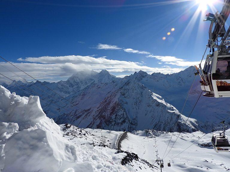 Skiing, Горные лыжи